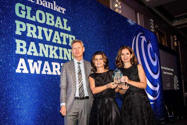 """Akbank Private Banking üst üste 5. kez """"Türkiye'nin En İyi Özel Bankacılık Birimi"""""""
