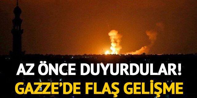 Az önce duyurdular! Gazze'de flaş gelişme