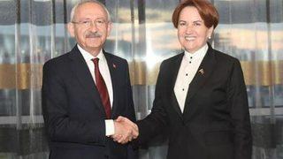 Akşener'den Kılıçdaroğlu'na ziyaret!