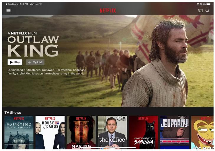 Netflix iPad Pro desteğine kavuştu!