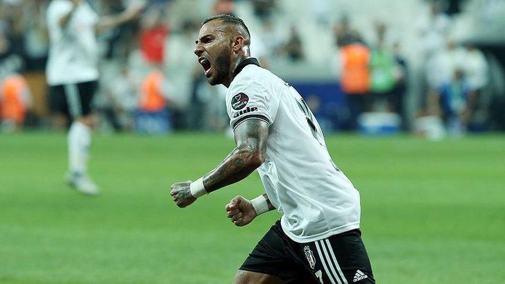 Beşiktaş'ta ayrılık! Quaresma Premier Lig yolcusu