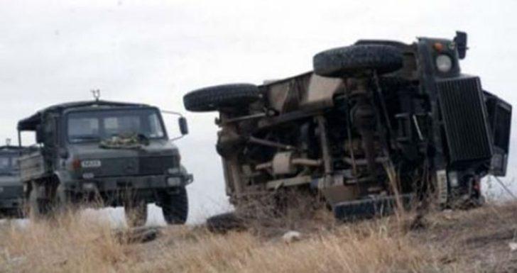 Sivas'tan acı haber! Yaralı askerler var