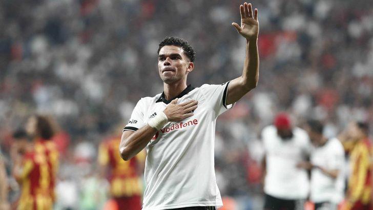 Beşiktaş Pepe'nin sözleşmesinin feshedildiğini KAP'a bildirdi!