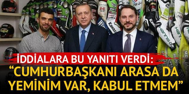 Sofuoğlu: Cumhurbaşkanı'ndan telefon da gelse kabul etmem