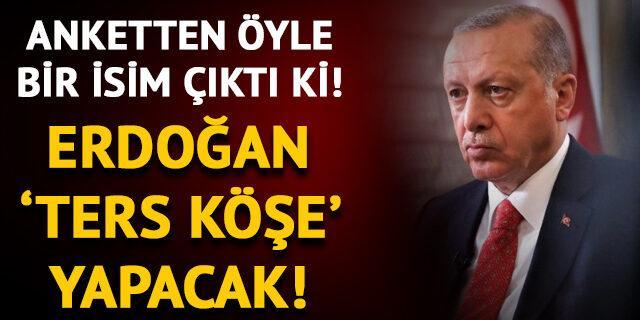 Cumhurbaşkanı Erdoğan ters köşe yapabilir! Sürpriz isim...