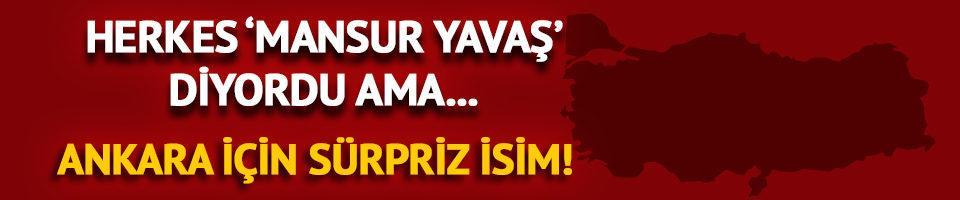 CHP'de Ankara sürprizi! Herkes Mansur Yavaş derken...