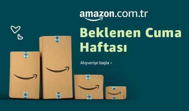 Amazon Türkiye'de Beklenen Cuma Haftasına Özel Görülmemiş Fırsatlar!