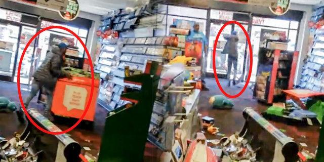 Öfkesine hakim olamadı, marketi yerle bir etti
