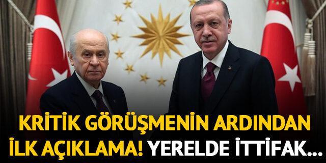 Kritik görüşme sonrası AK Parti'den ilk açıklama