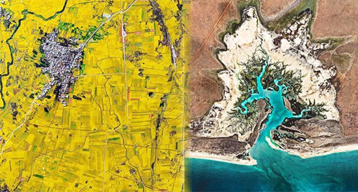 Dünyaya bakış açınızı değiştirecek 15 nefes kesen uydu fotoğrafı
