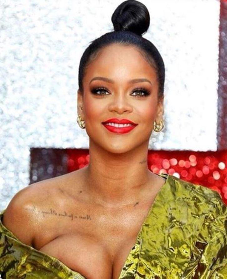 Rihannaya hükümetten görev: Sıra dışı ve tam yetkili elçi