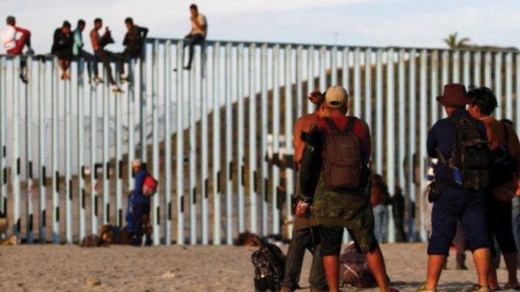 ABD-Meksika sınırı göçmen konvoyu nedeniyle kapatıldı