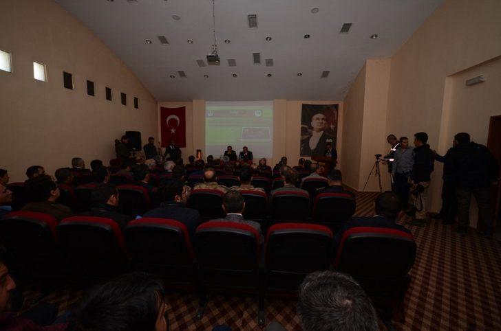 Sarıkamış şehitlerini anma etkinlikleri hazırlık toplantısı yapıldı
