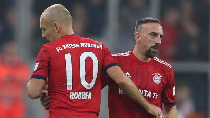 Bayern Münih Franck Ribery ve Arjen Robben ile yollarını ayırıyor!