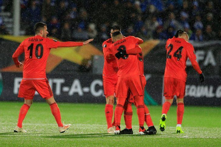 Sarpsborg 2 - 3 Beşiktaş