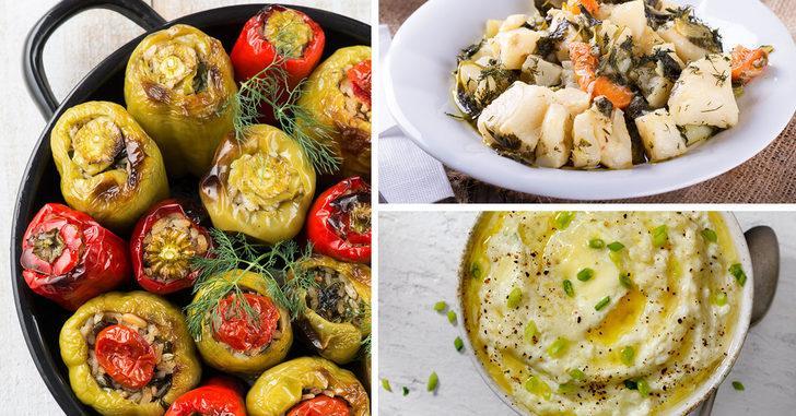 Zeytinyağlılar aşkına! Birbirinden lezzetli 6 zeytinyağlı tabağı