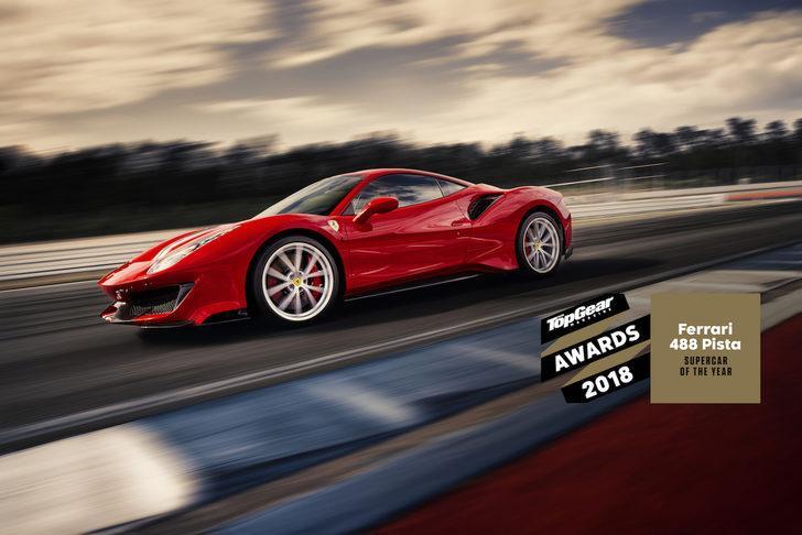 Yılın süper otomobili: Ferrari 488 Pista!