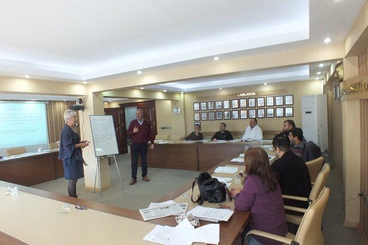 TSO'da personel ve üye eğitimleri verildi