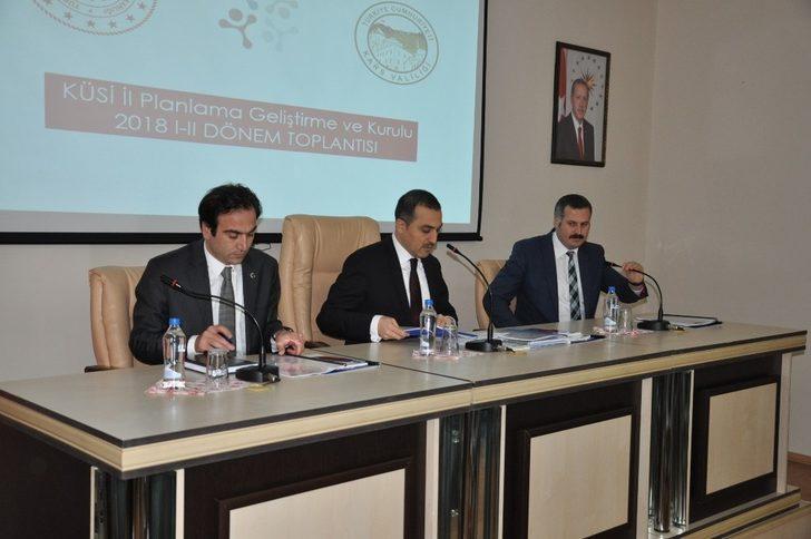 Kars'ta Kamu, Üniversite Sanayi İşbirliği Toplantısı yapıldı