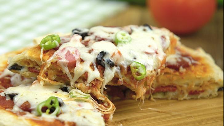 Tavada Pizza Börek