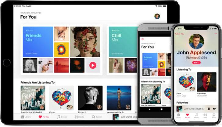 Apple Music tablete geliyor!