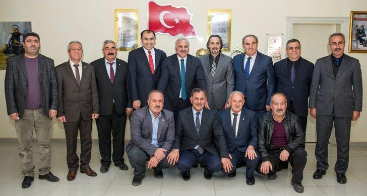 Vali Zorluoğlu'ndan VAN ESOB'a veda ziyareti