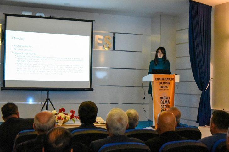 """İpekyolu Belediyesinden """"Madde Bağımlılığıyla Mücadele"""" semineri"""