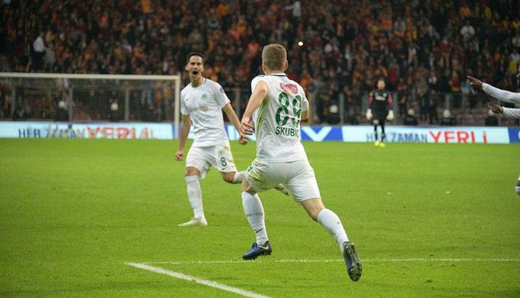 9- Konyaspor 20 PUAN- ŞU ANKİ PUAN DURUMU 8- Konyaspor 21 PUAN