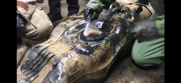 Kamyonetin yakıt deposunda 32 kilo eroin ele geçirildi