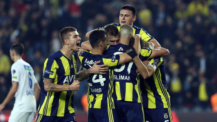 Fenerbahçe - Giresunspor maçının muhtemel 11'leri