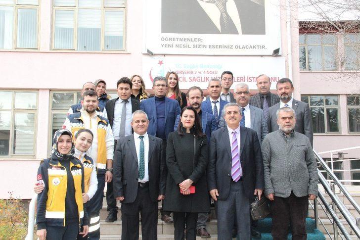 Kırşehir'de 2 ve 4 nolu Acil Sağlık Hizmet İstasyonu açılışı yapıldı