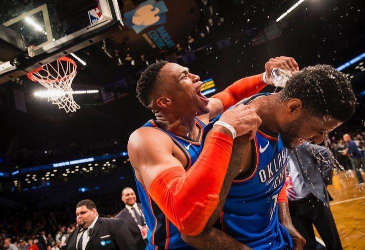 Russell Westbrook NBA tarihinin en çok triple double yapan 3. oyuncusu oldu