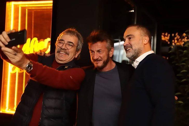Sean Penn ile Selçuk Yöntem buluştu
