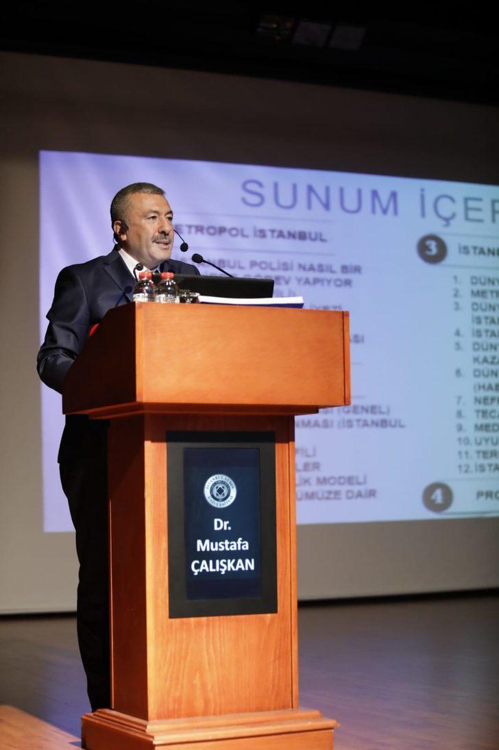 İstanbul Emniyet Müdürü Çalışkan: Suç oranlarında yüzde 17'lik düşüş var