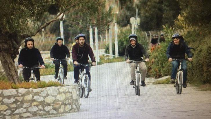 'Kazdağları gençlerin pedallarında'