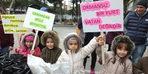 Burhaniye'de öğrenciler, palamutları toprakla buluşturdu