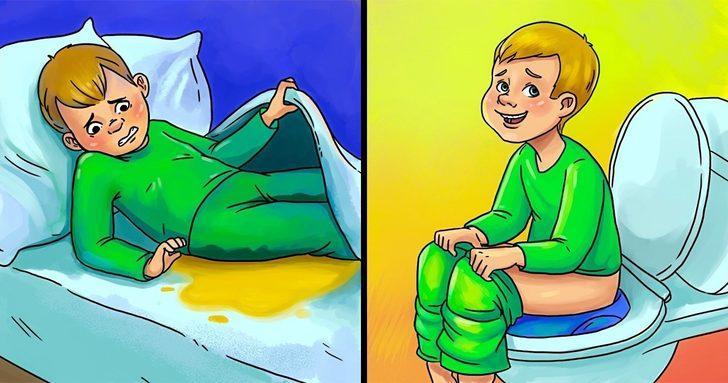 Çocuğunuz geceleri yatağını mı ıslatıyor? İşte bu durumun kesin çözümü
