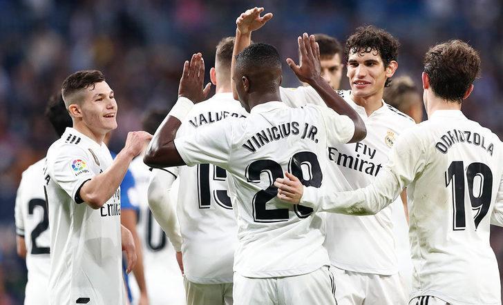 Real Madrid 6 - 1 Melilla (İspanya Kral Kupası)