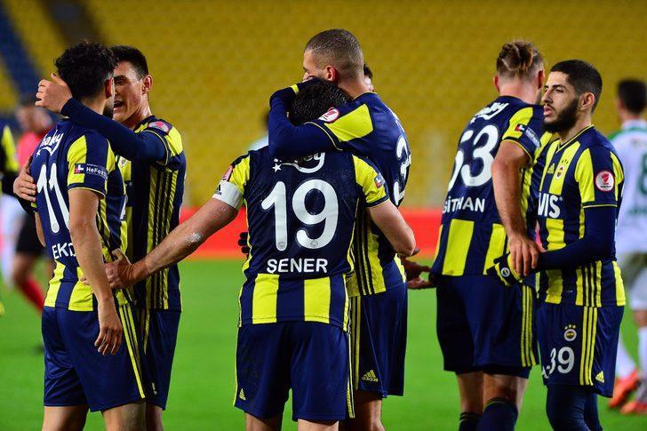 MAÇ ÖZETİ | Fenerbahçe 1 - 0 Giresunspor (Ziraat Türkiye Kupası)