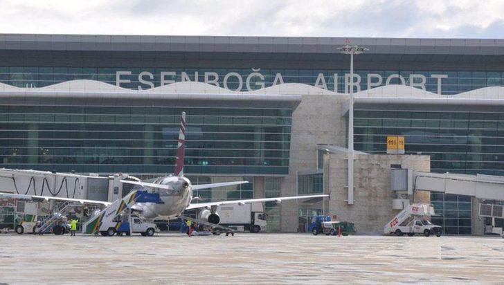 Esenboğa Havalimanı'nda hırsızlık operasyonu: 16 gözaltı