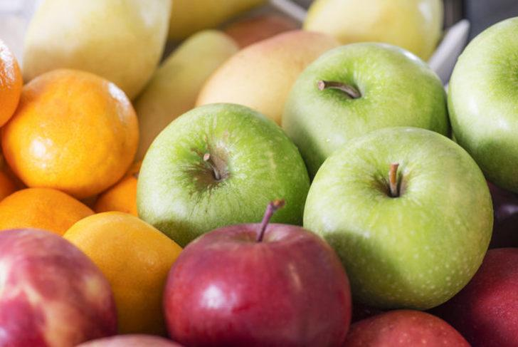 Elma yemek iyi bir yöntem