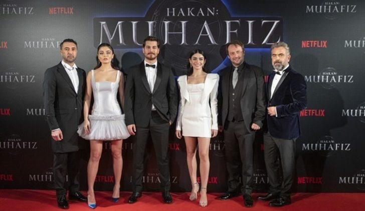 İlk Netflix Türkiye dizisi 'Hakan: Muhafız'