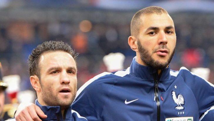 Karim Benzema'dan Fenerbahçeli Valbuena'ya hakaret