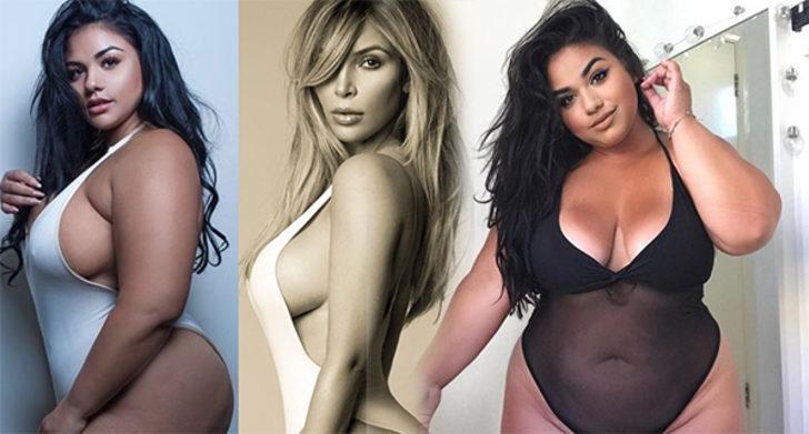 Beden olumlaması için ünlülerin pozlarını canlandıran büyük beden model: Diana Sirokai