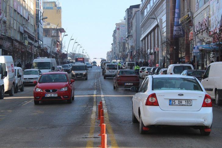Erzurum araç sayısında yüzde 3'lük artış