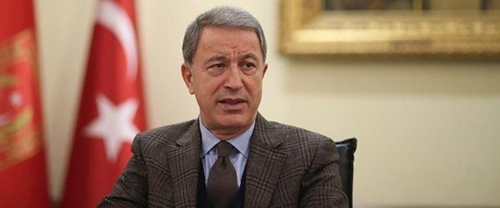 Milli Savunma Bakanı Akar: Teröristlerin eğitilip donatılması kabul edilemez