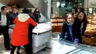 Market basıp metresini perişan etti!