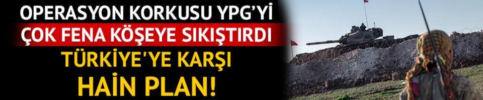 YPG çok fena köşeye sıkıştı! Türkiye'ye karşı hain plan!