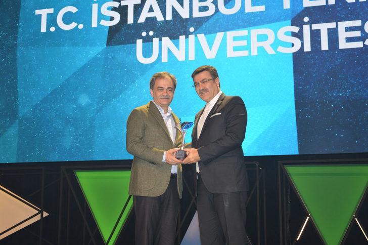 İstanbul Yeni Yüzyıl Üniversitesi'ne Kristal Baret Ödülü