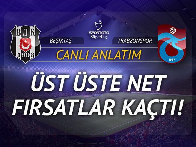 Beşiktaş - Trabzonspor (CANLI ANLATIM)